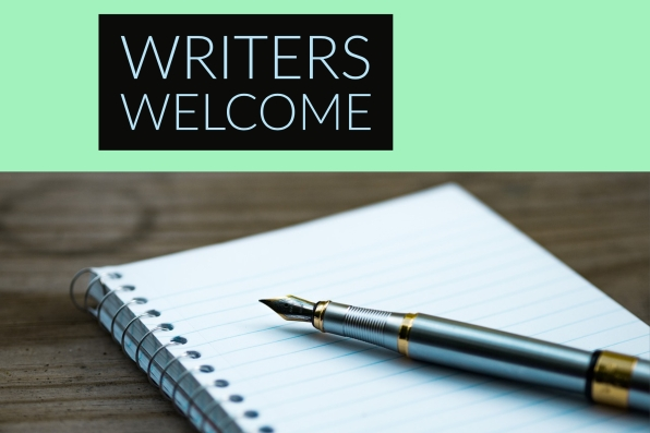Writers Welcome Image
